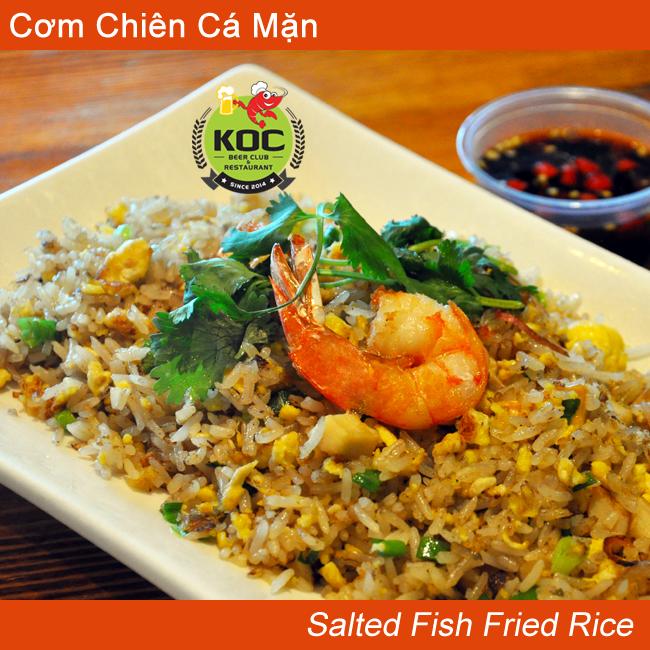 Salted Fish Fried Rice Cơm Chiên Cá Mặn Little Saigon Restaurant Quan Nhau