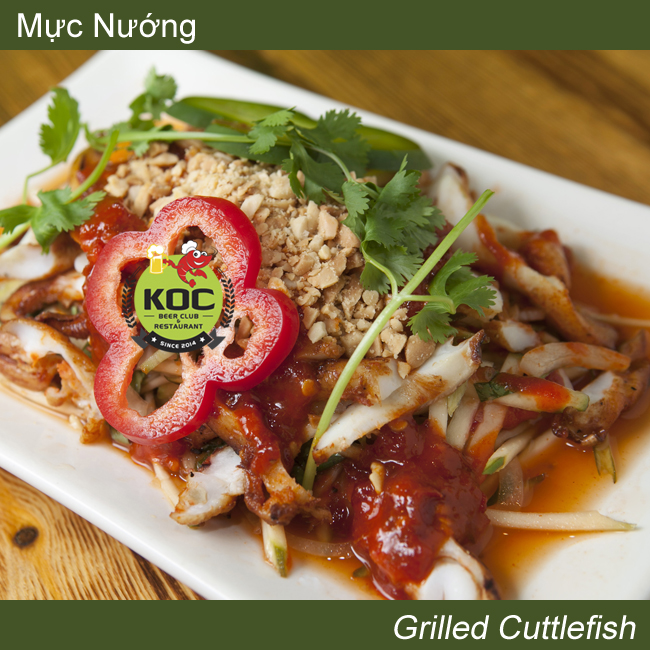 Mực Nướng Grilled Cuttlefish Little Saigon KOC Restaurant Garden Grove