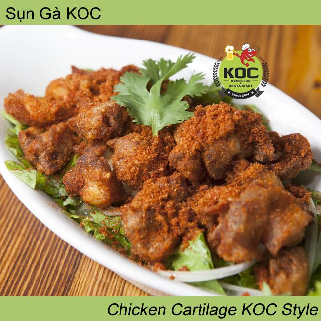 Sụn Gà KOC Chicken Cartilage KOC Style Little Saigon Vietnamese Restaurant