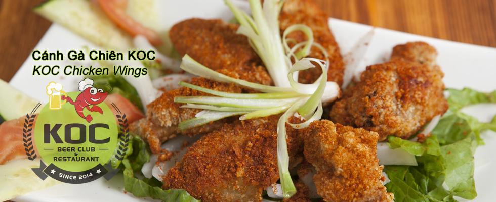 Cánh Gà Chiên KOC - KOC Fried Chicken Wings