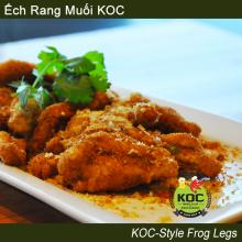 KOC-Style Frog Legs Ếch Rang Muối KOC Little Saigon Orange County OC